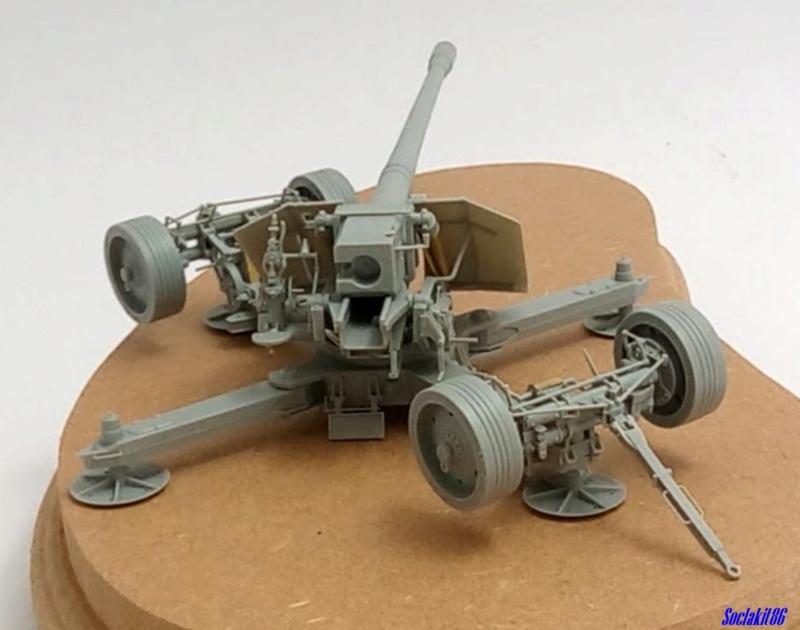 Krupp 12,8 cm PaK 44 (GWH réf L3526 - 1/35 ) M1245