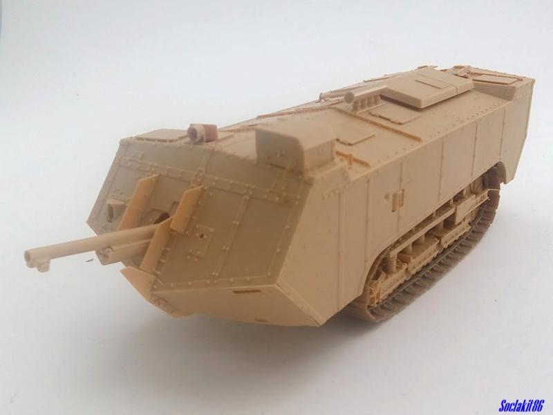 St Chamond M3 (Hobby Boss 83860 - 1/35)  M1343