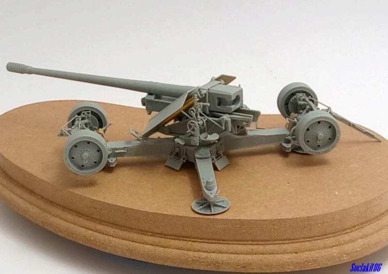 Krupp 12,8 cm PaK 44 (GWH réf L3526 - 1/35 ) M1344