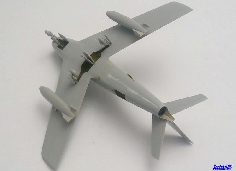 """North American F-86F-30 """"MiG Mad Marines"""" (Eduard 1/48) M1347"""