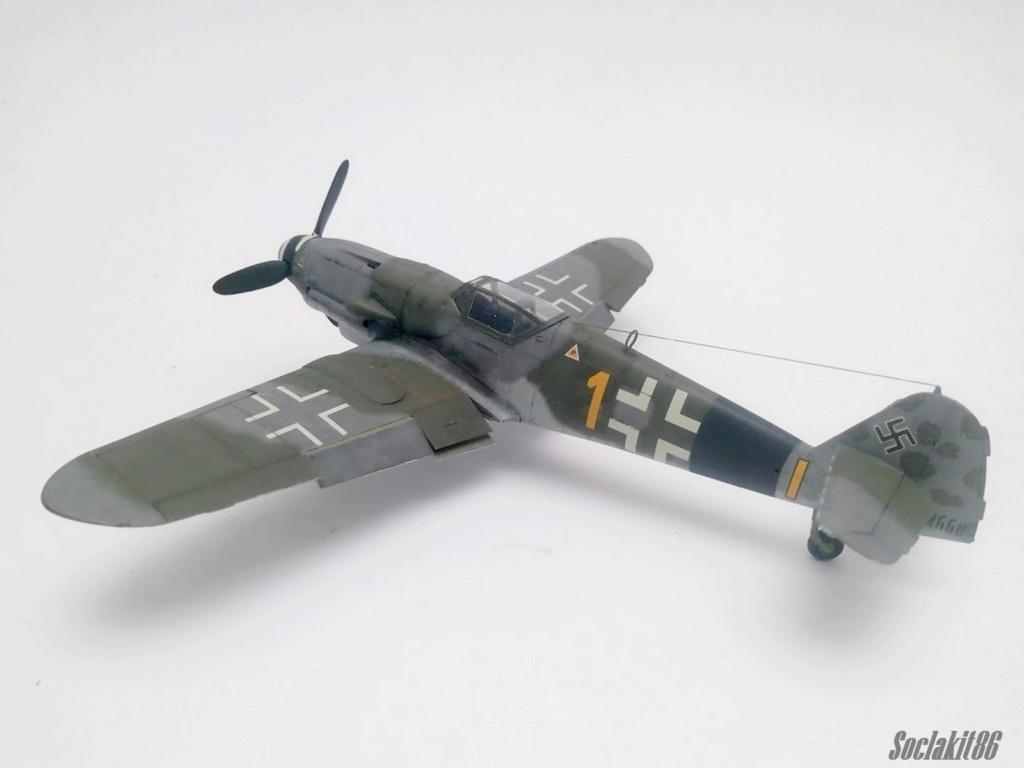 Bf 109 K-4 W.Nr. 332660 du 11/JG-53 (hasegawa 1/48)  M1431