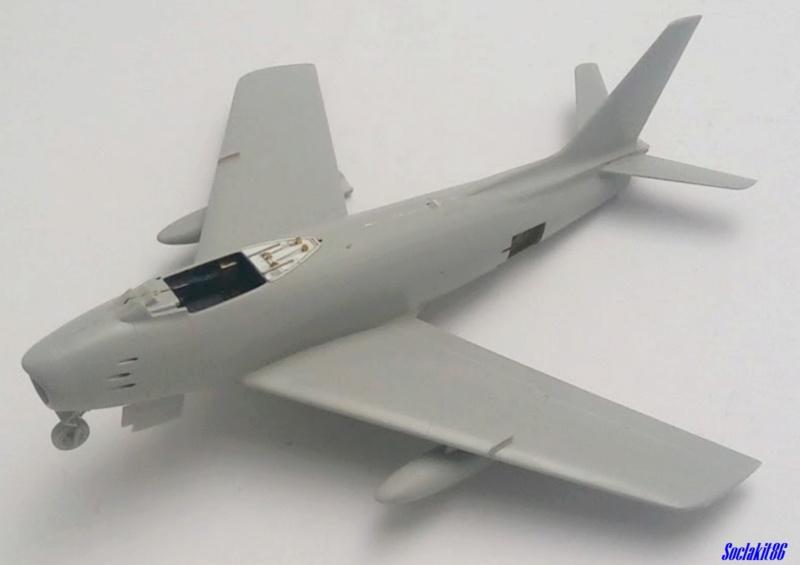 """North American F-86F-30 """"MiG Mad Marines"""" (Eduard 1/48) M1447"""