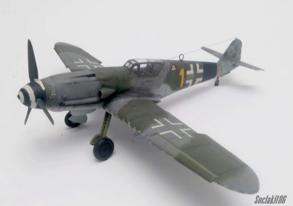 Bf 109 K-4 W.Nr. 332660 du 11/JG-53 (hasegawa 1/48)  M1530
