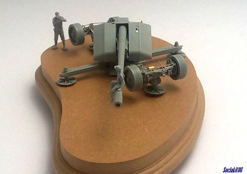 Krupp 12,8 cm PaK 44 (GWH réf L3526 - 1/35 ) M1544