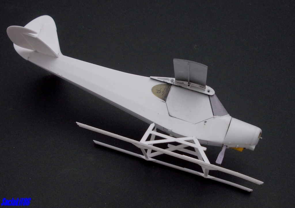 "Piper PA-18-150 "" Super Cub"" Float Plane (Revell 1/32) M1622"