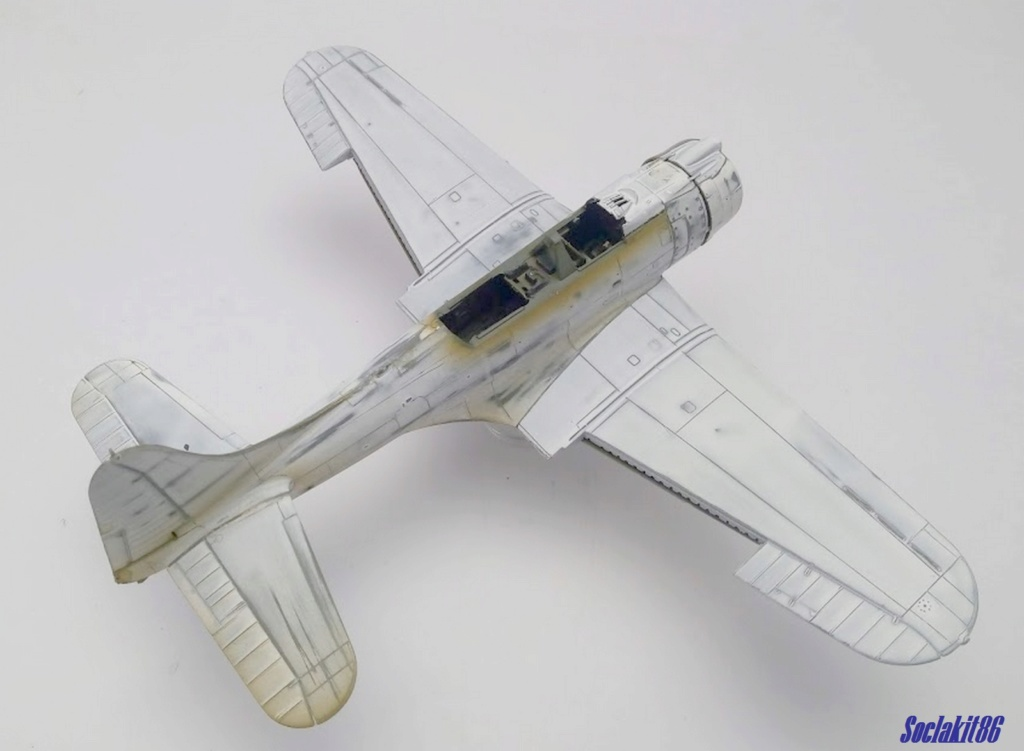 "Douglas SBD-1 Dauntless (Accurate Miniature 1/48) ""The US Marines Corps Golden Wings"" - Page 2 M1726"