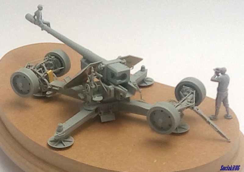 Krupp 12,8 cm PaK 44 (GWH réf L3526 - 1/35 ) M1747