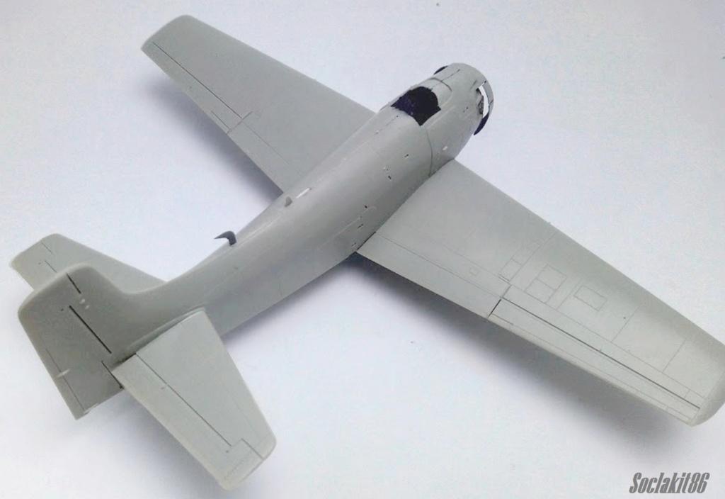 AD-4 Skyraider n°123895 /SFERMA 110 de l'EC 3/20  (Tamiya 1/48) M1832