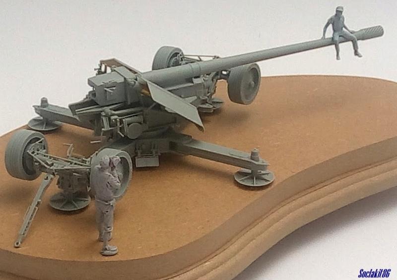 Krupp 12,8 cm PaK 44 (GWH réf L3526 - 1/35 ) M1845