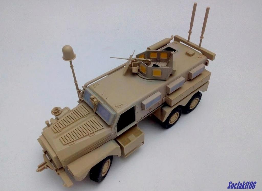 Mine Resistant Ambush Protect  6 x 6 Cougar (Meng 1/35)  M1931