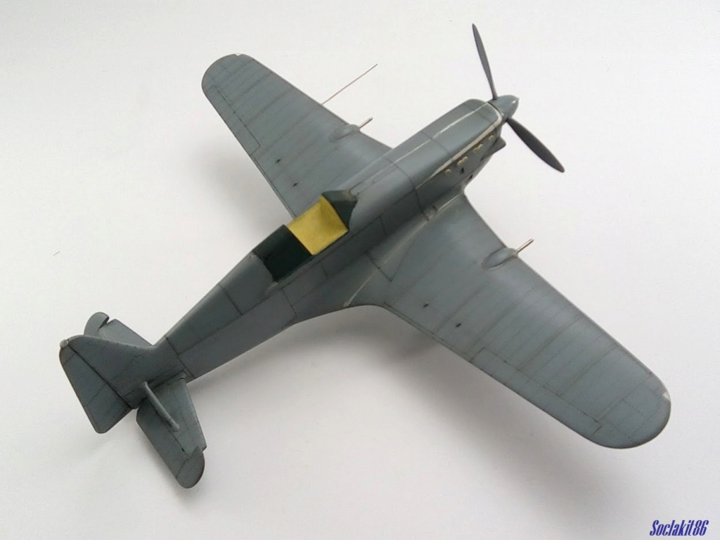 Morane Saulnier MS 406 (Azur /AB Toys 1/32) + décals Kagero Top Colors 17 M1949