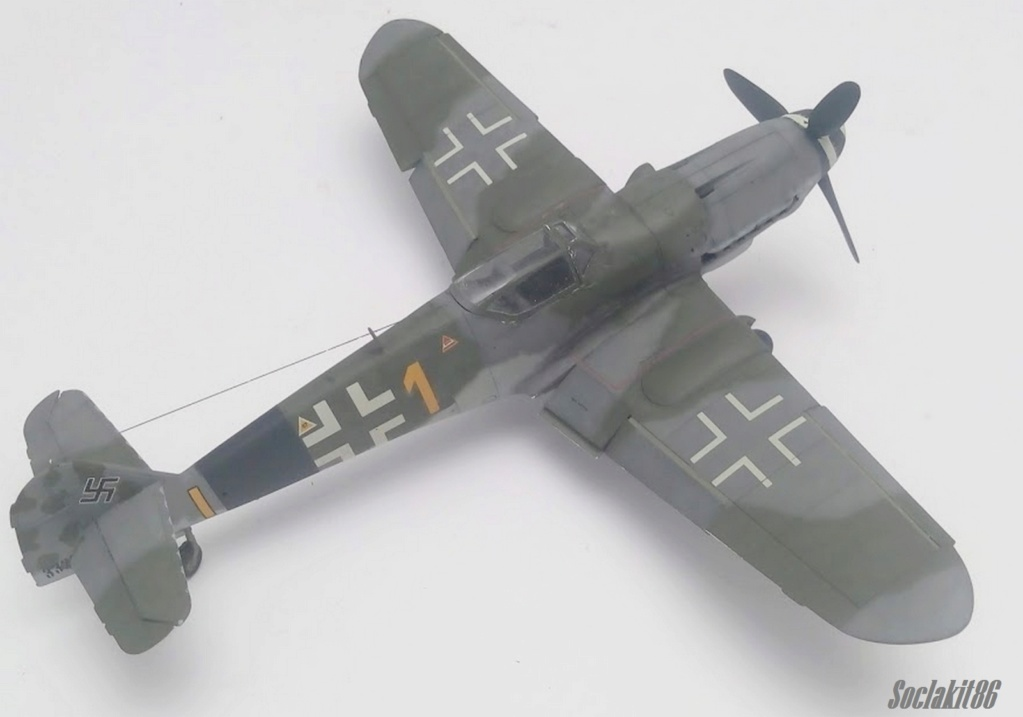 Bf 109 K-4 W.Nr. 332660 du 11/JG-53 (hasegawa 1/48)  M2031