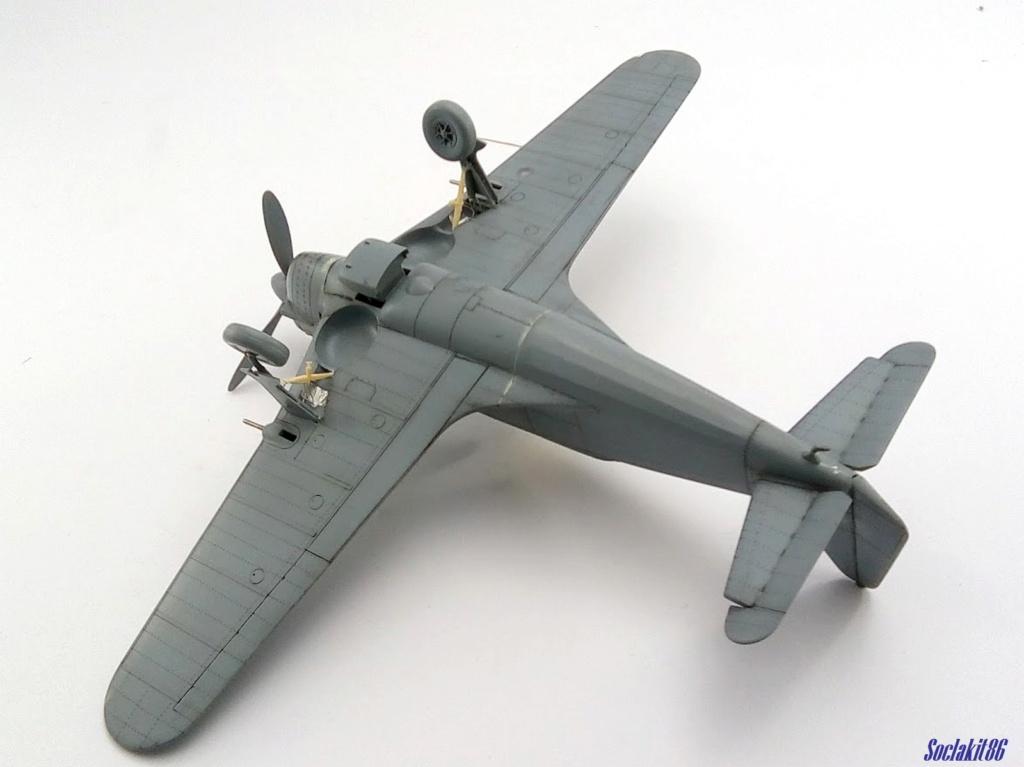 Morane Saulnier MS 406 (Azur /AB Toys 1/32) + décals Kagero Top Colors 17 M2142