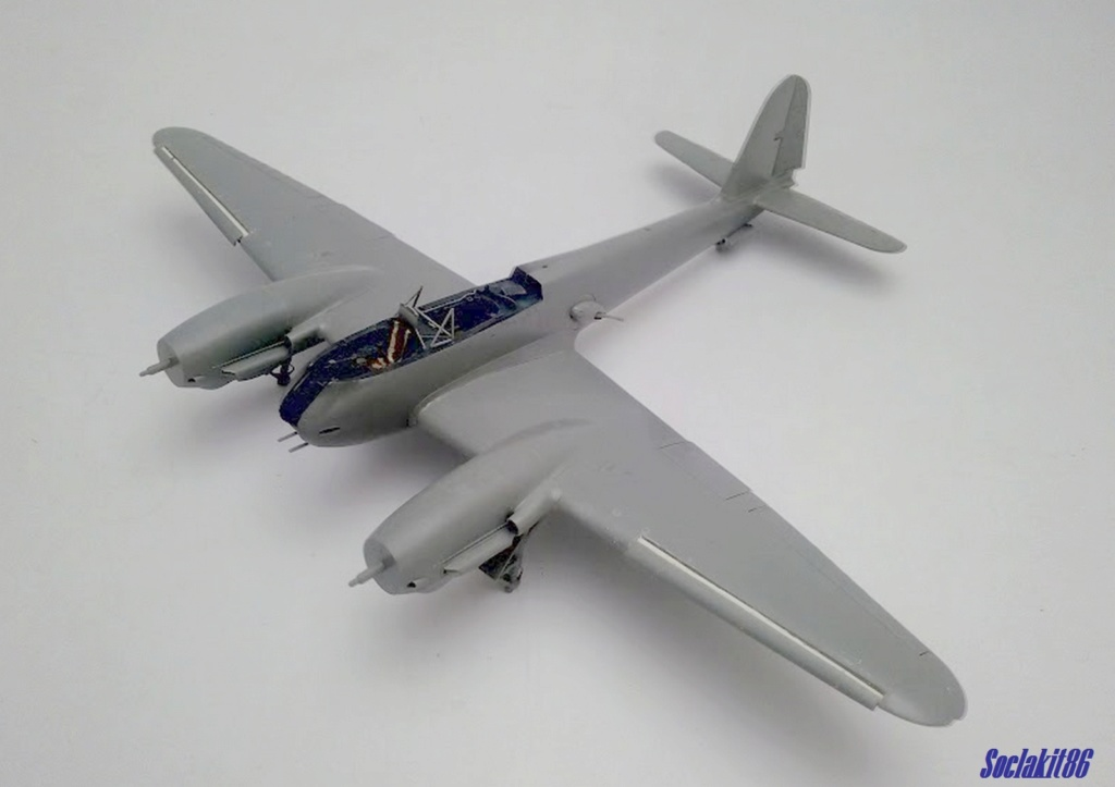 Me 410 B-2 / U-2 / R-4 Hornisse (Revell 04533 1/48) M2223