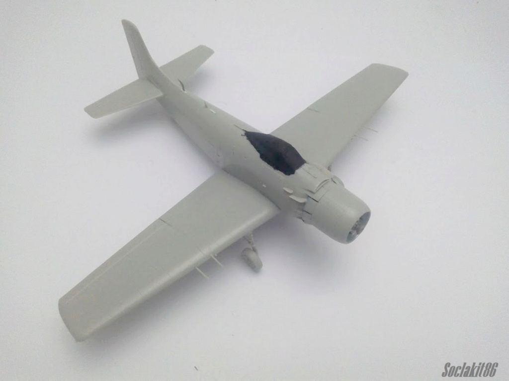 AD-4 Skyraider n°123895 /SFERMA 110 de l'EC 3/20  (Tamiya 1/48) M2227