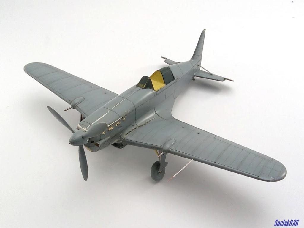 Morane Saulnier MS 406 (Azur /AB Toys 1/32) + décals Kagero Top Colors 17 M2242