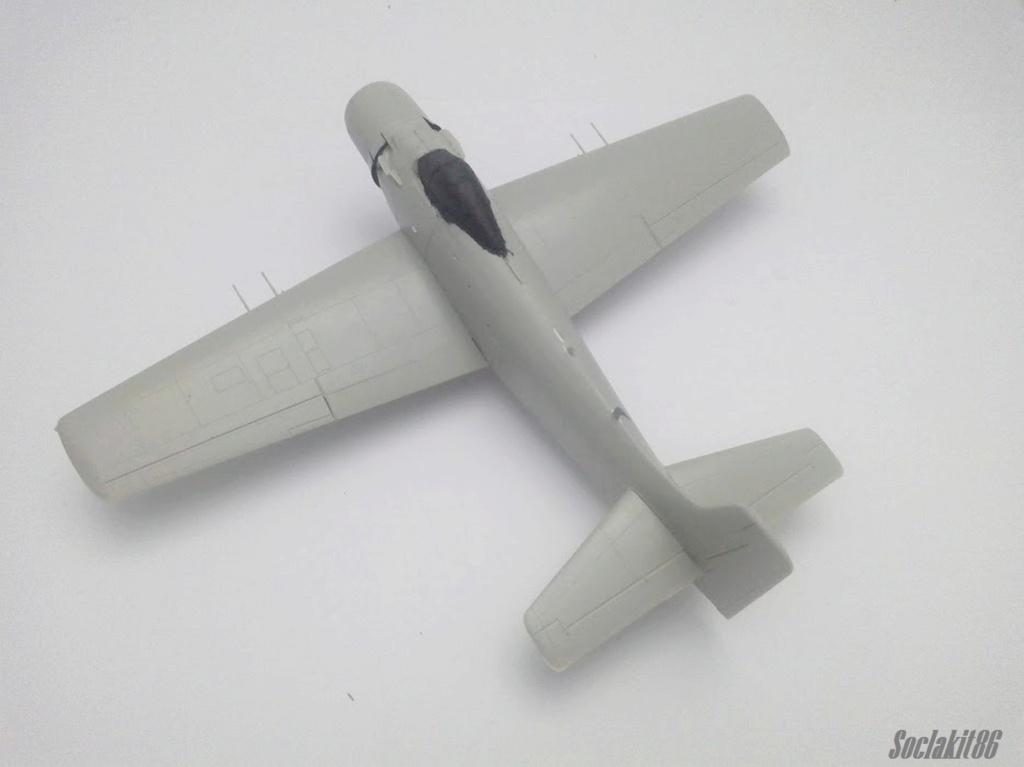 AD-4 Skyraider n°123895 /SFERMA 110 de l'EC 3/20  (Tamiya 1/48) M2425