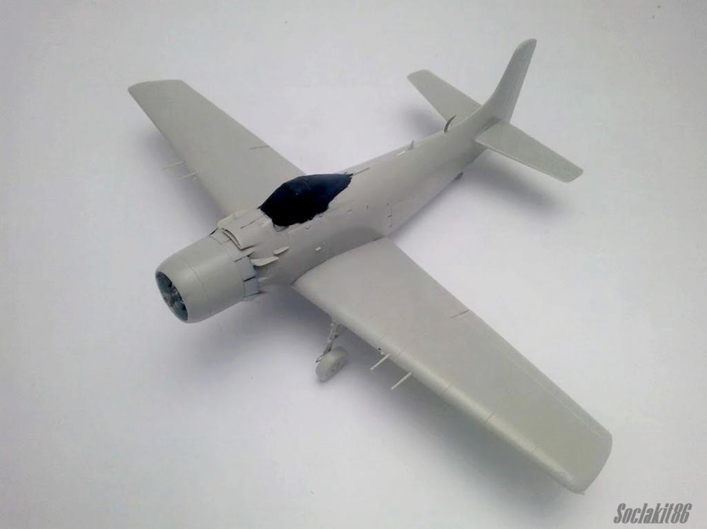 AD-4 Skyraider n°123895 /SFERMA 110 de l'EC 3/20  (Tamiya 1/48) M2525