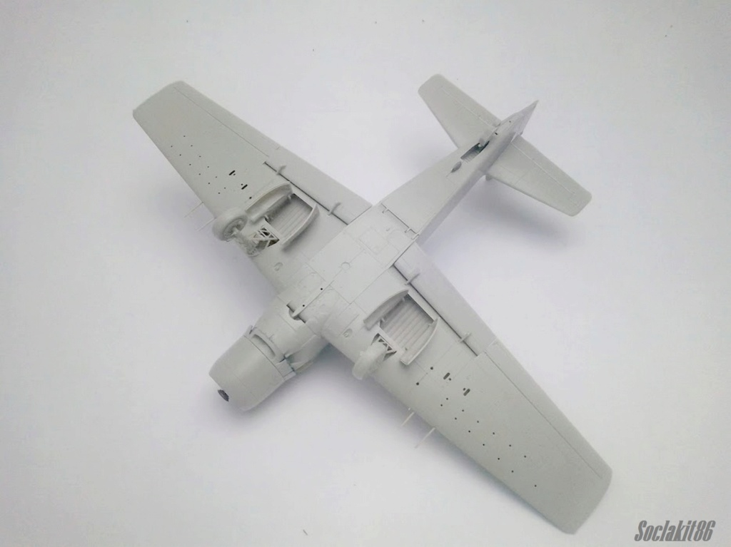AD-4 Skyraider n°123895 /SFERMA 110 de l'EC 3/20  (Tamiya 1/48) M2622