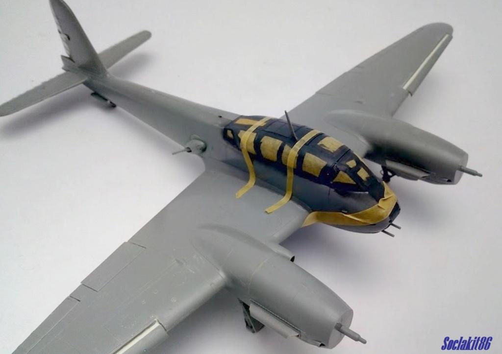 Me 410 B-2 / U-2 / R-4 Hornisse (Revell 04533 1/48) M2718