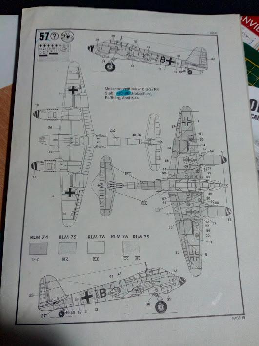 Me 410 B-2 / U-2 / R-4 Hornisse (Revell 04533 1/48) M2819