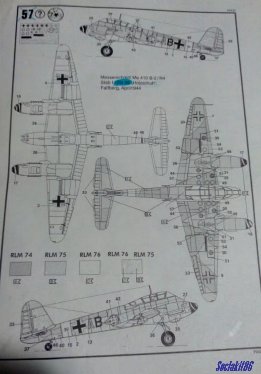 Me 410 B-2 / U-2 / R-4 Hornisse (Revell 04533 1/48) M2820