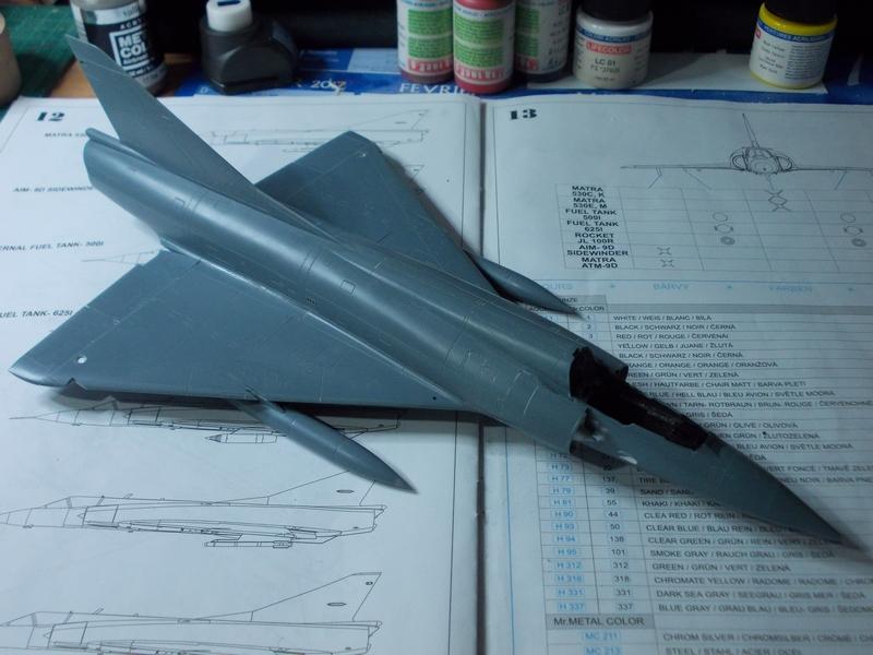 Mirage III C ( Eduard Profipack  8101) M3110