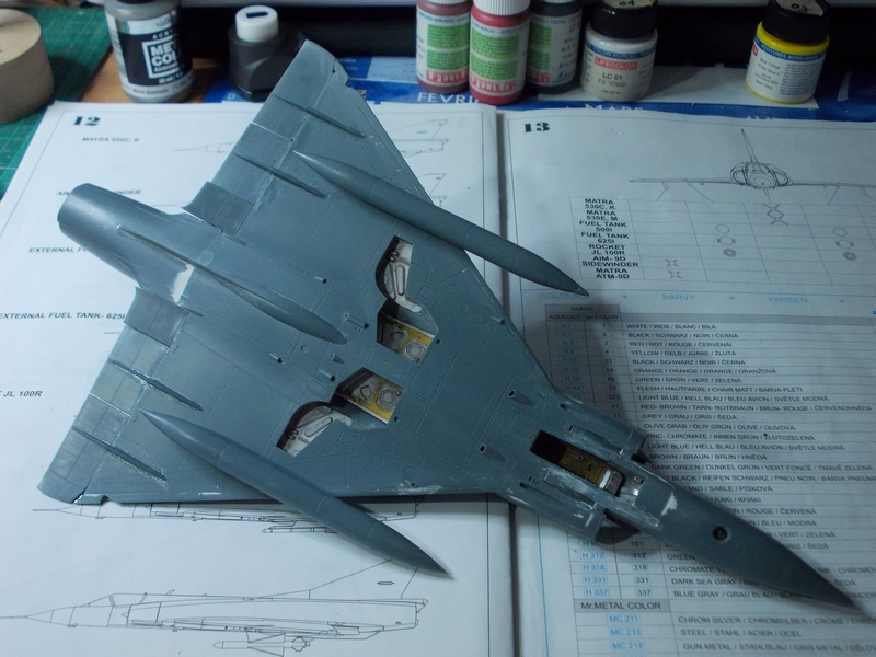Mirage III C ( Eduard Profipack  8101) M3210