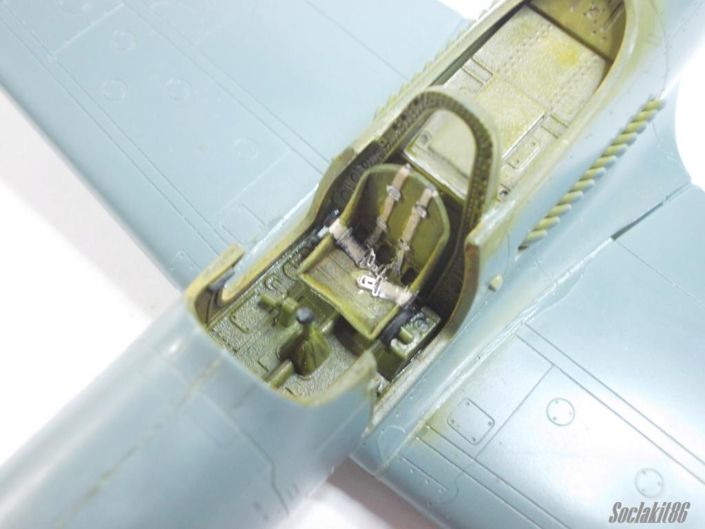 Bell P-400 aux couleurs Russes ( Eduard 1/48) M3413