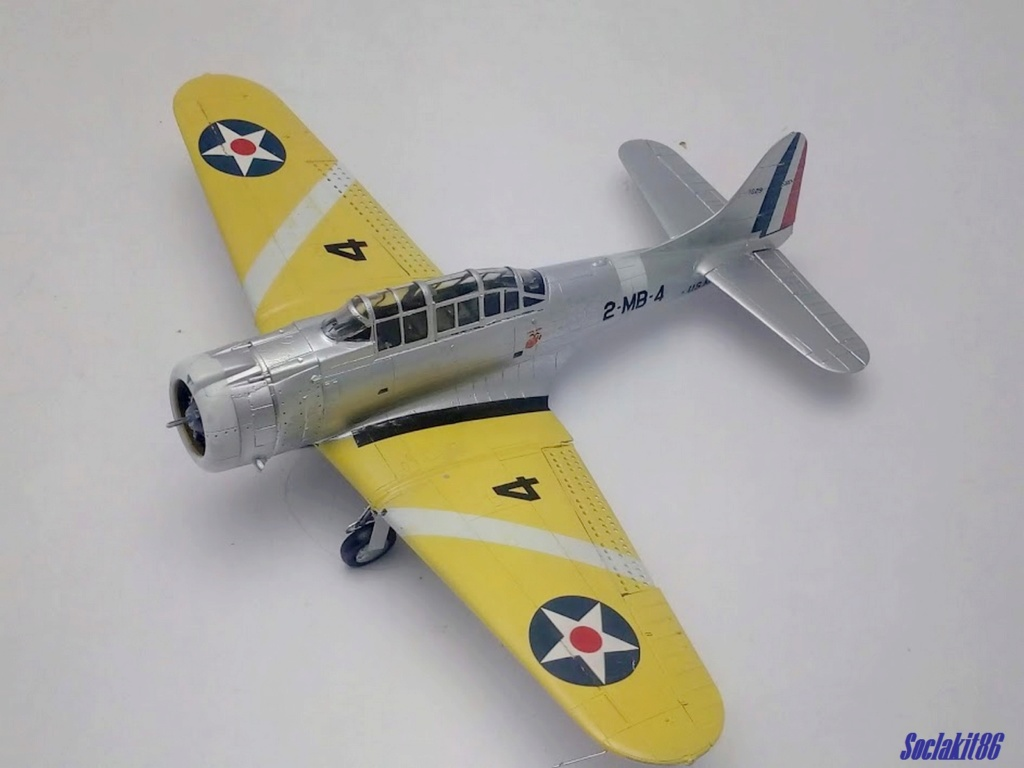 "Douglas SBD-1 Dauntless (Accurate Miniature 1/48) ""The US Marines Corps Golden Wings"" - Page 3 M3520"
