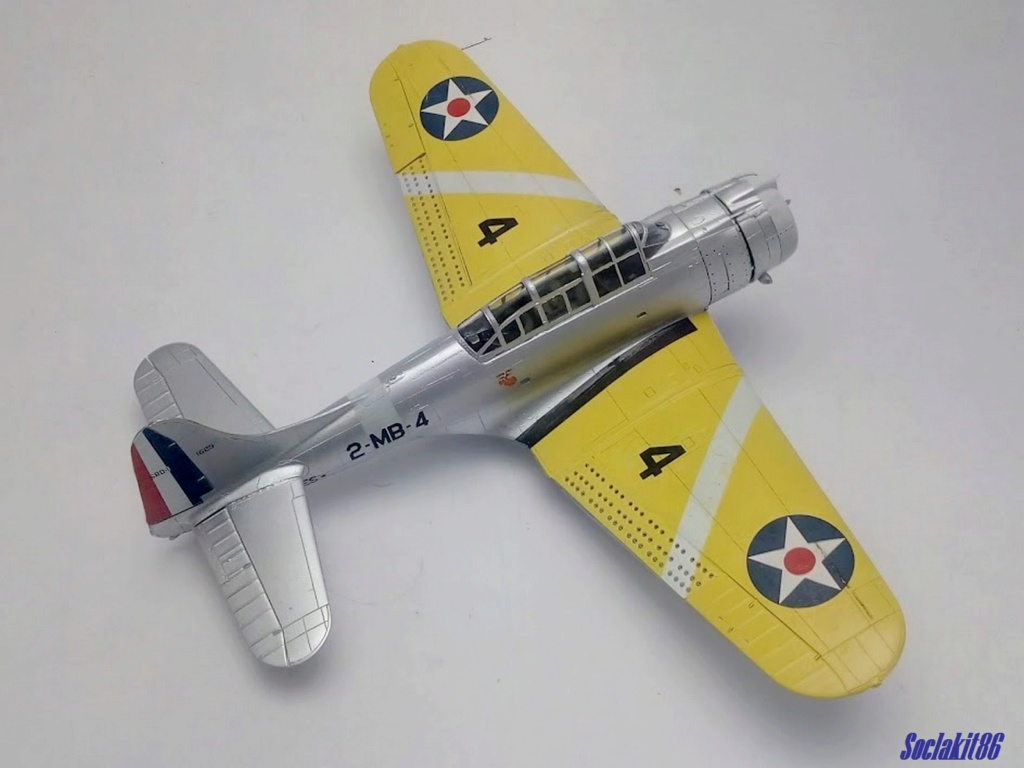 "Douglas SBD-1 Dauntless (Accurate Miniature 1/48) ""The US Marines Corps Golden Wings"" - Page 3 M3721"