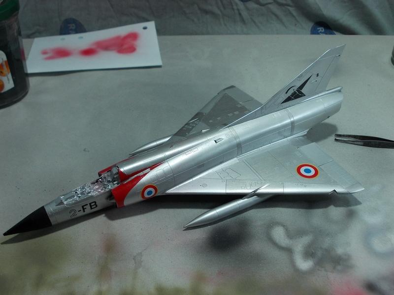 Mirage III C ( Eduard Profipack  8101) M3810