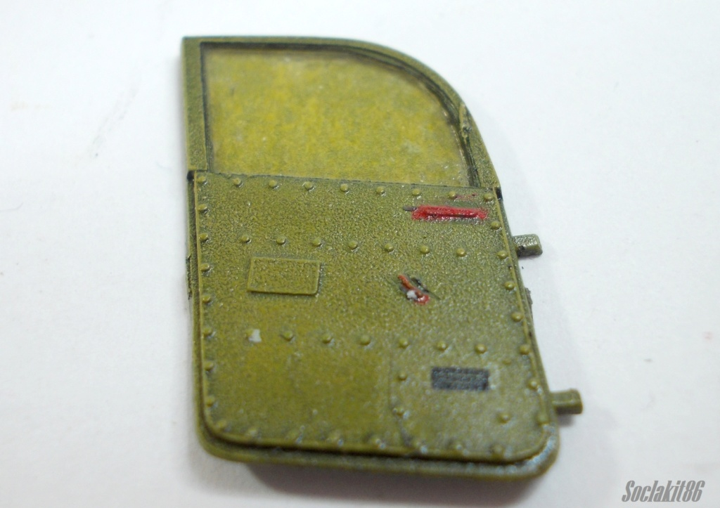 Bell P-400 aux couleurs Russes ( Eduard 1/48) - Page 2 M3813
