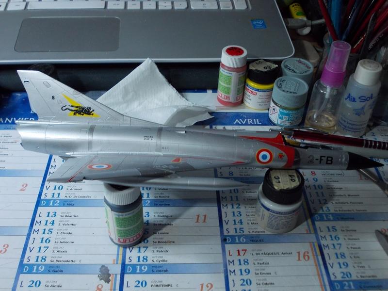 Mirage III C ( Eduard Profipack  8101) M3910