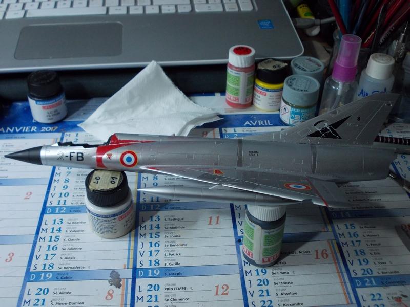 Mirage III C ( Eduard Profipack  8101) M4010