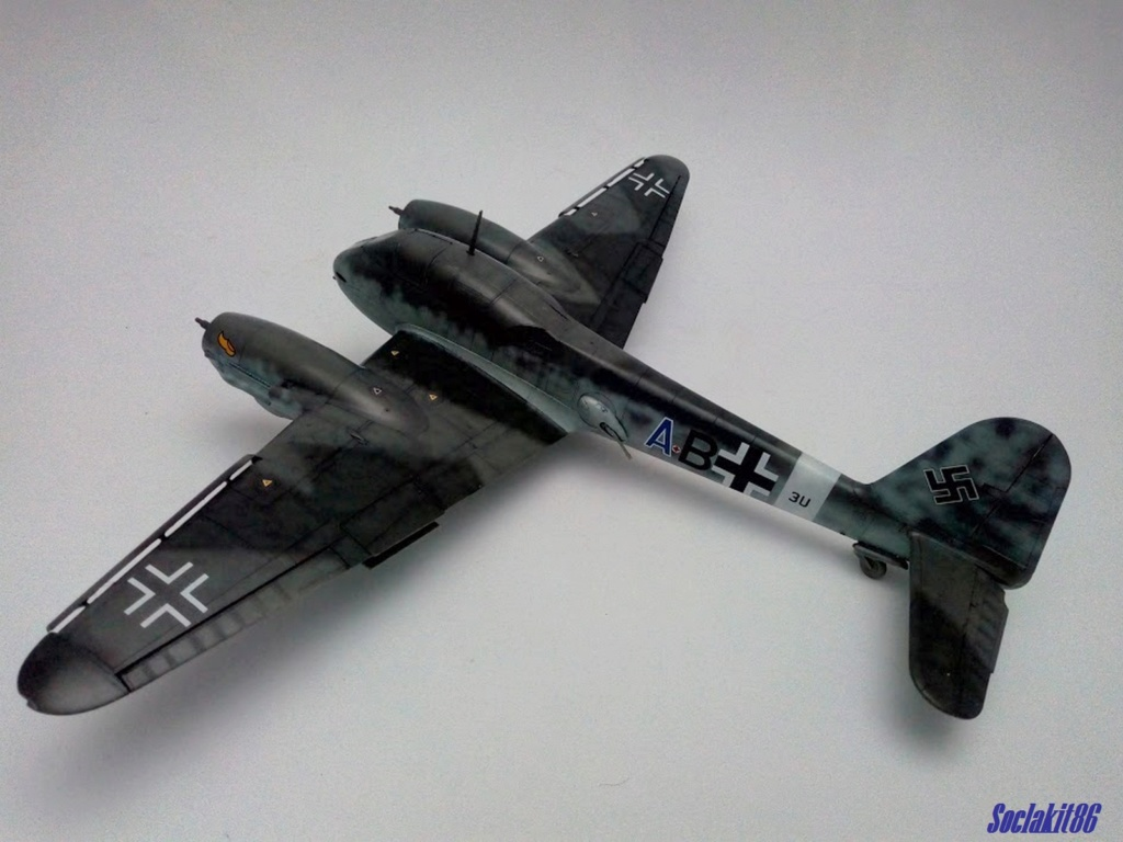 Me 410 B-2 / U-2 / R-4 Hornisse (Revell 04533 1/48) - Page 2 M4021