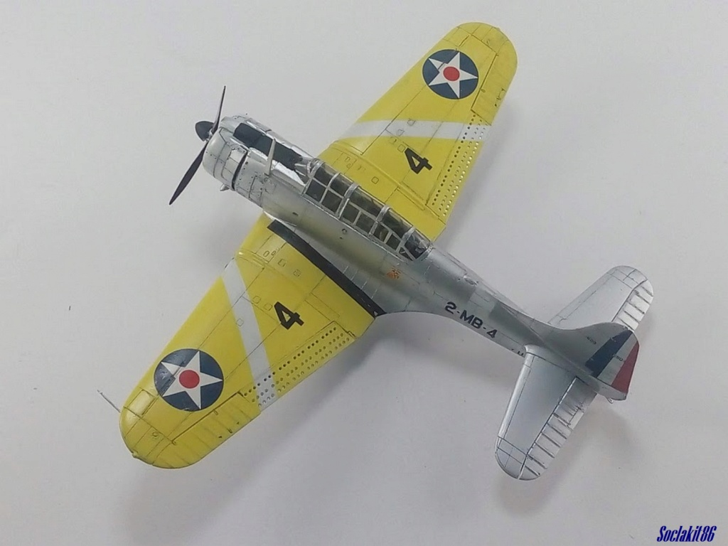 "Douglas SBD-1 Dauntless (Accurate Miniature 1/48) ""The US Marines Corps Golden Wings"" - Page 3 M4026"