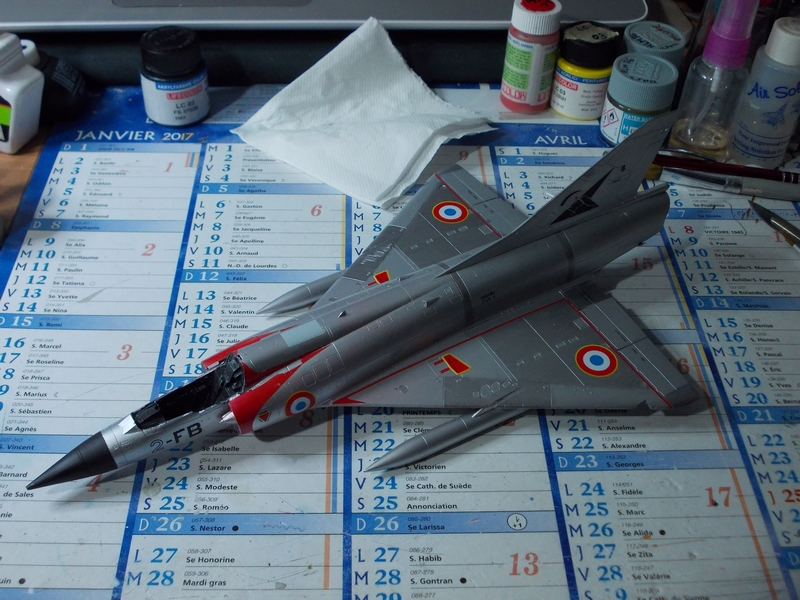 Mirage III C ( Eduard Profipack  8101) M4110