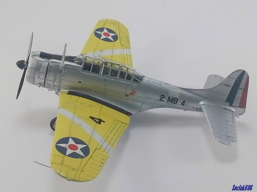 "Douglas SBD-1 Dauntless (Accurate Miniature 1/48) ""The US Marines Corps Golden Wings"" - Page 3 M4129"