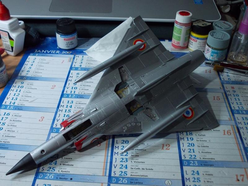 Mirage III C ( Eduard Profipack  8101) M4210