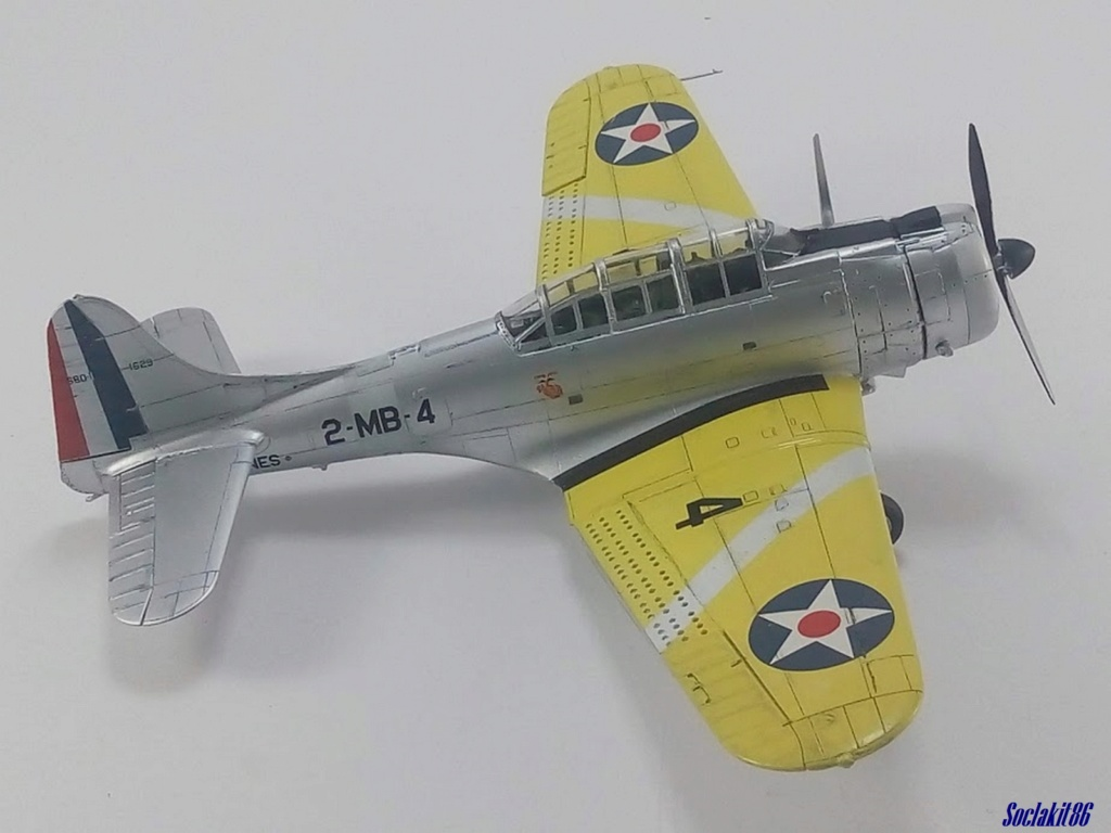 "Douglas SBD-1 Dauntless (Accurate Miniature 1/48) ""The US Marines Corps Golden Wings"" - Page 3 M4227"