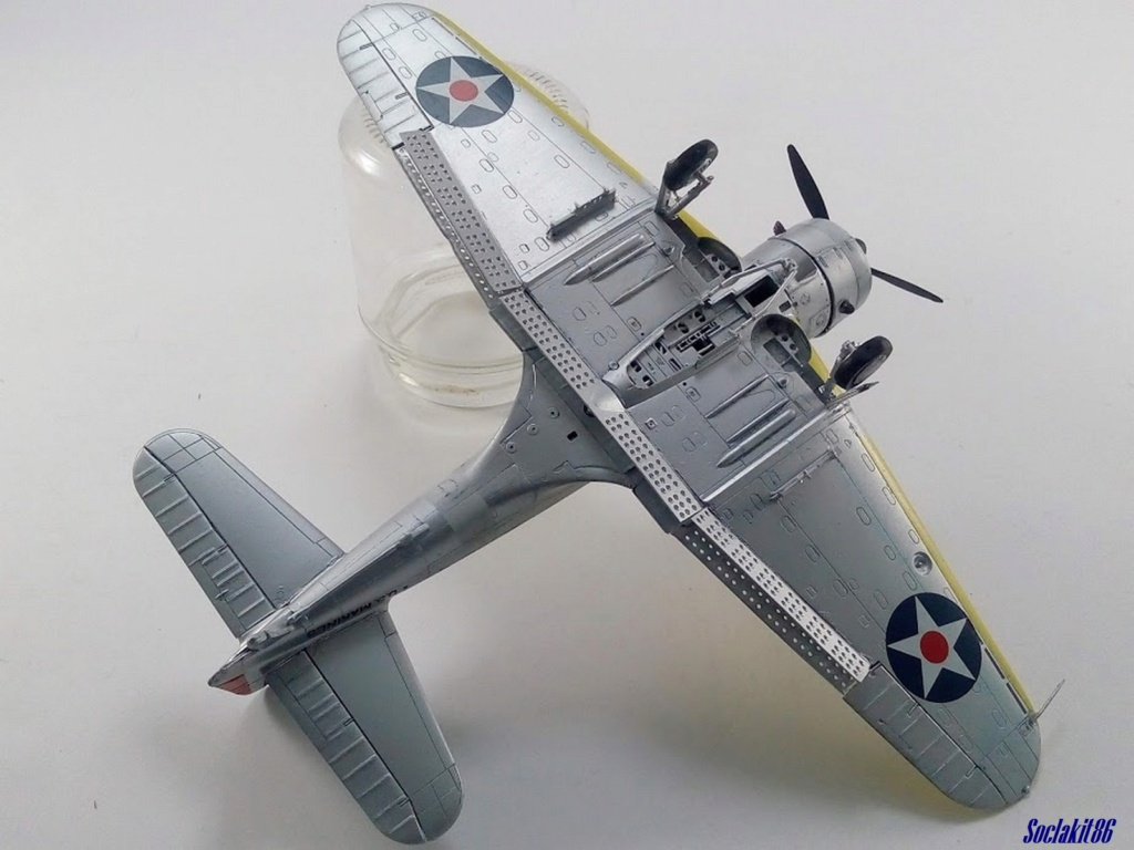 """Douglas SBD-1 Dauntless (Accurate Miniature 1/48) """"The US Marines Corps Golden Wings"""" - Page 4 M4425"""