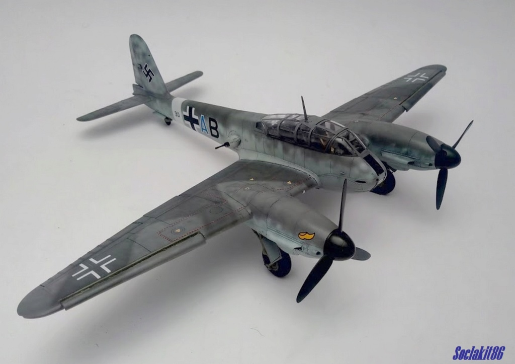 Me 410 B-2 / U-2 / R-4 Hornisse (Revell 04533 1/48) - Page 2 M4519