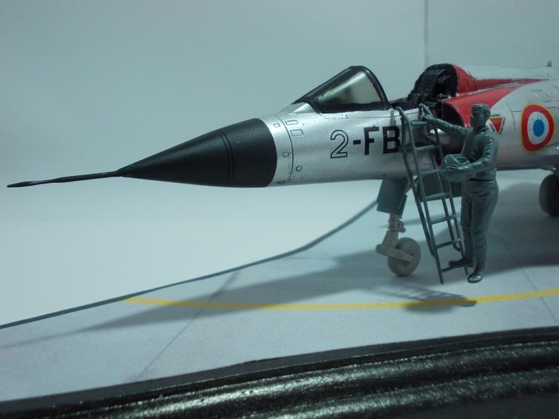 Mirage III C ( Eduard Profipack  8101) M4610