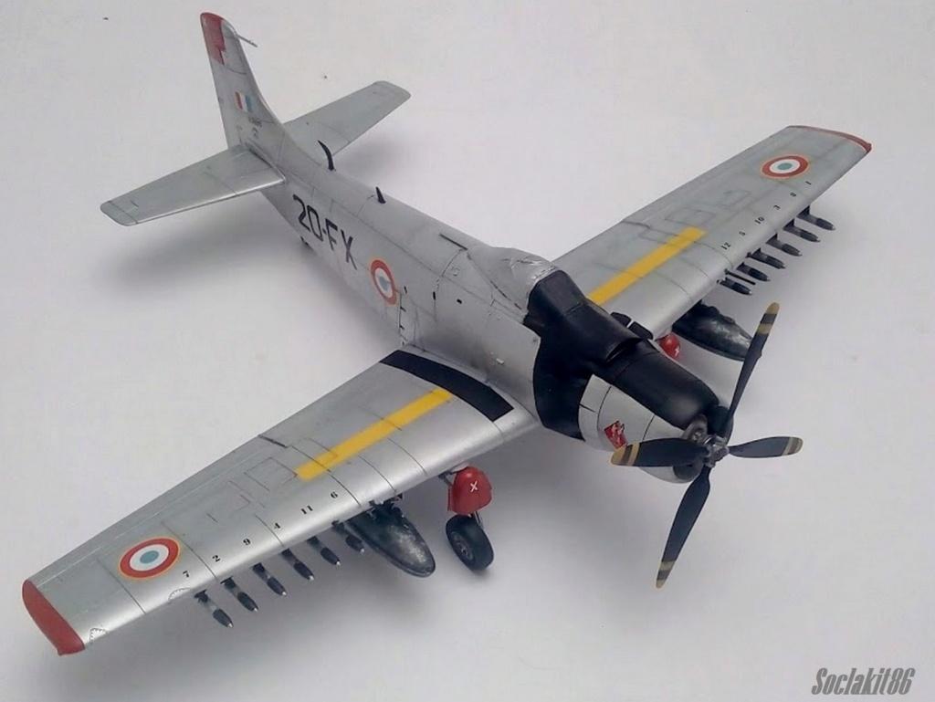 AD-4 Skyraider n°123895 /SFERMA 110 de l'EC 3/20  (Tamiya 1/48) - Page 2 M4720