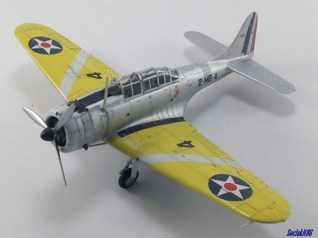 """Douglas SBD-1 Dauntless (Accurate Miniature 1/48) """"The US Marines Corps Golden Wings"""" - Page 4 M4722"""