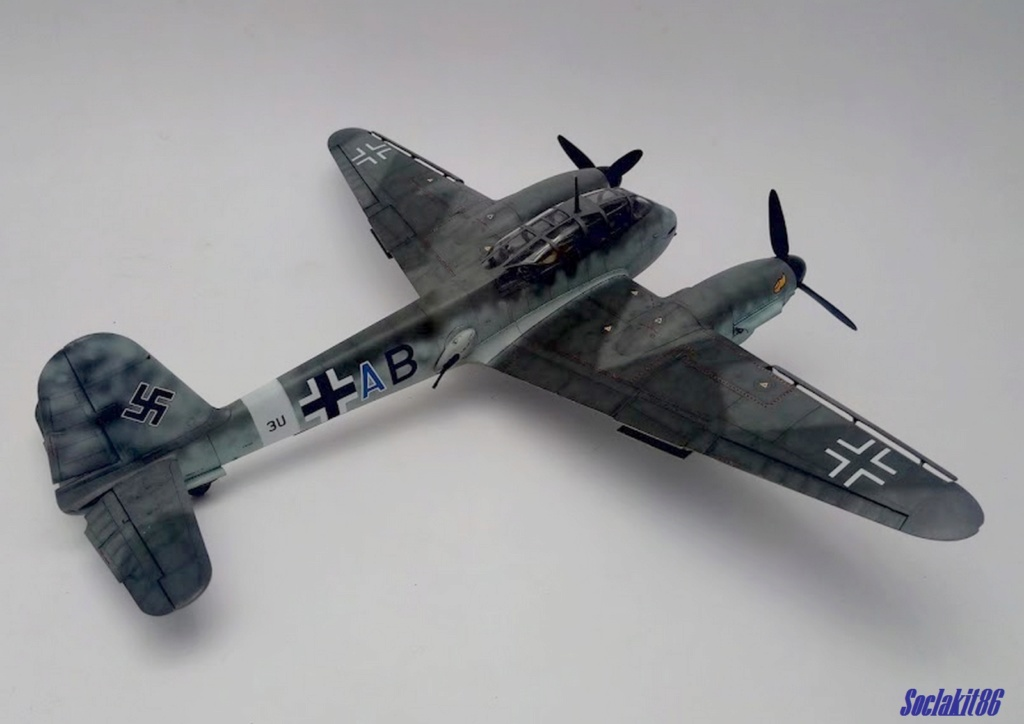 Me 410 B-2 / U-2 / R-4 Hornisse (Revell 04533 1/48) - Page 2 M4817