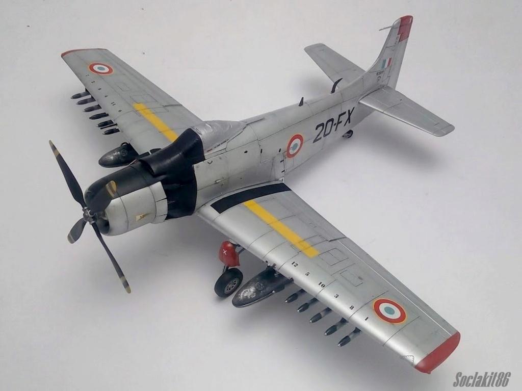 AD-4 Skyraider n°123895 /SFERMA 110 de l'EC 3/20  (Tamiya 1/48) - Page 2 M4821