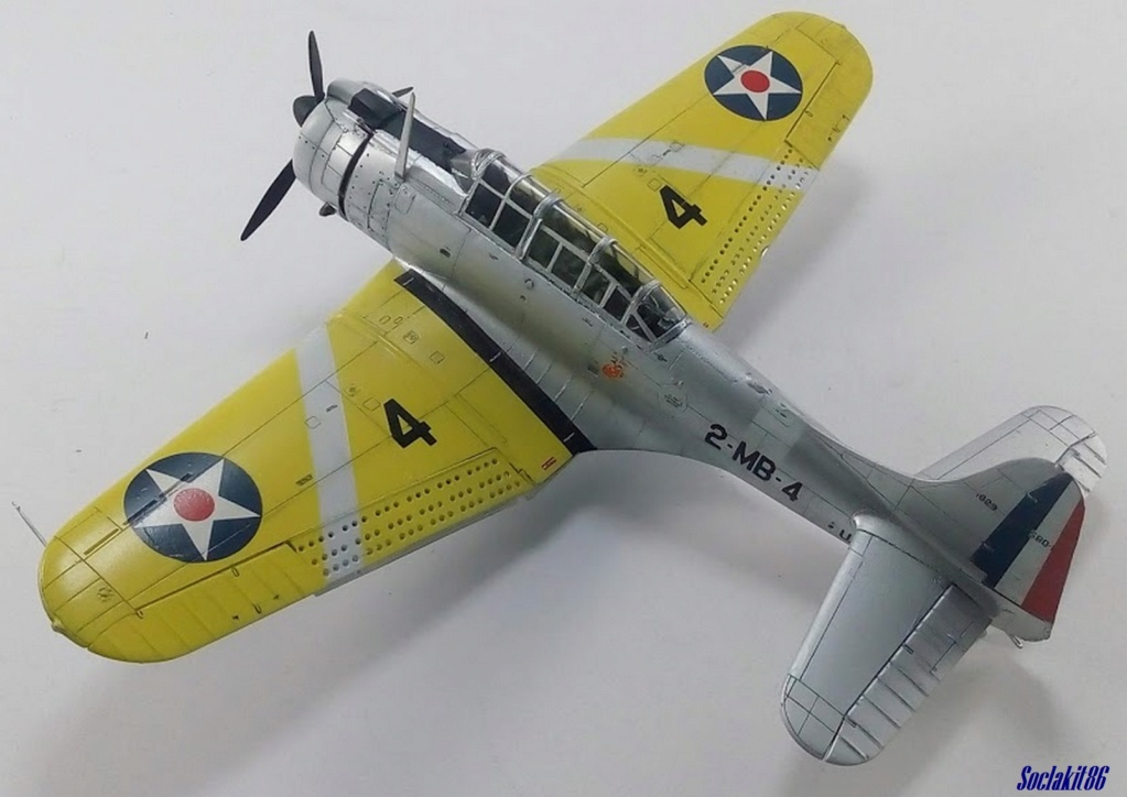 """Douglas SBD-1 Dauntless (Accurate Miniature 1/48) """"The US Marines Corps Golden Wings"""" - Page 4 M4823"""