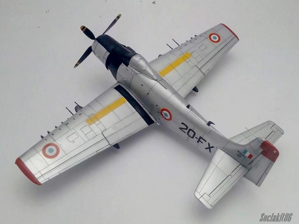 AD-4 Skyraider n°123895 /SFERMA 110 de l'EC 3/20  (Tamiya 1/48) - Page 2 M4919